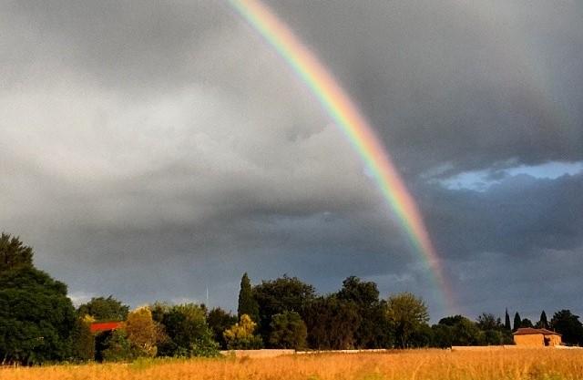The darkest cloud is a joyful thing. Just put a rainbow on it.